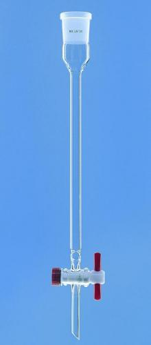 Chromatografiekolom PTFE, 125 ml, l 400 mm, Ø 20 mm, NS29/32 (24954110)