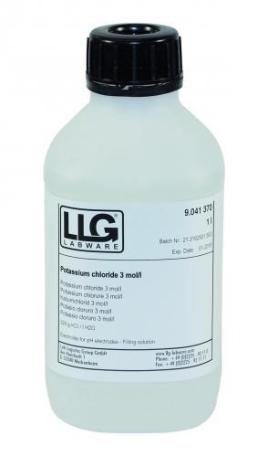 Elektrolytoplossing  3 mol/l