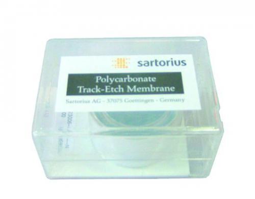 Membraanfilters PC, wit Ø 47 mm, 0,2 µm, niet steriel (20600100)
