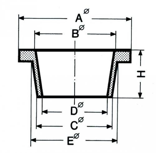 Deutsch & Neumann Filtreerring Ø A 56 mm, Ø B (LLG9052451) | LLG9052451