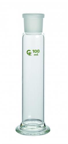 Gaswasfles 205 ml zonder kop huls NS/29/32 (LLG9110474)