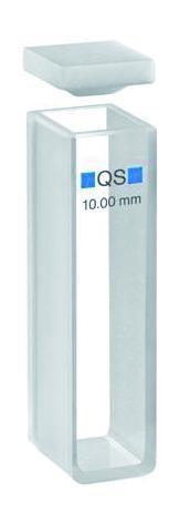 Kuvet voor UV-absorptiemeting, 100-Q.S. kwarts, 40 mm laagd. (31004032)