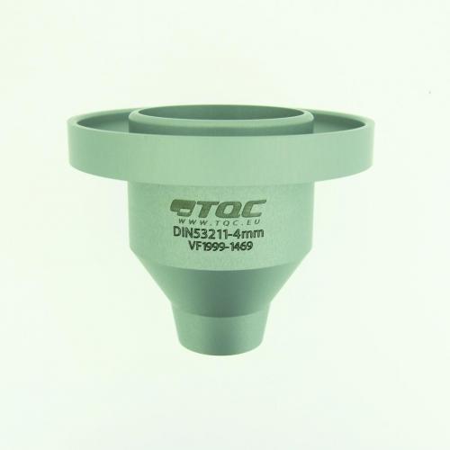 Viscositeitsbeker DIN en ISO 2431, vaste uitloop Ø 4 mm (LLG6088604)
