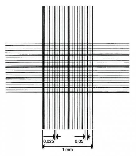 Metveerklemmen, dubbel raster voor Telkamers vlgs. Thoma