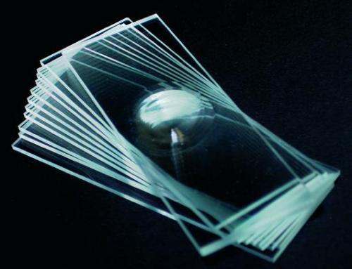 Objectglazen 76x26mm met 1 uitholling (31001001)