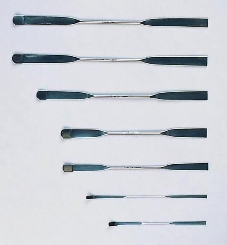 Dubbelspatel 100 mm, RVS   (LLG9220006)