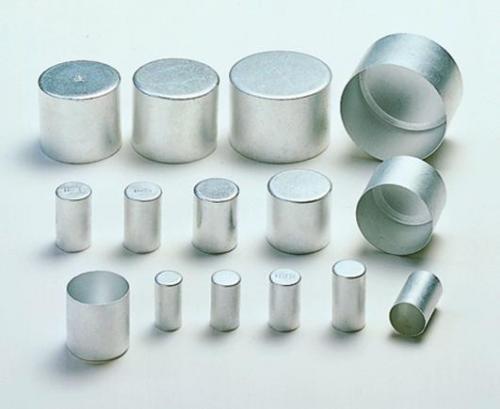 Aluminium stofkappen 13 mm
