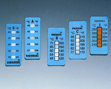 Temperatuur stroken Thermax 5 Type A, bereik +40 - +71°C (LLG9246836)