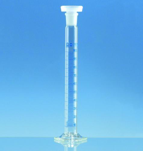 Mengcilinder 50:1ml m.NS19 met kunststof stop kl.A/KB (40140045)