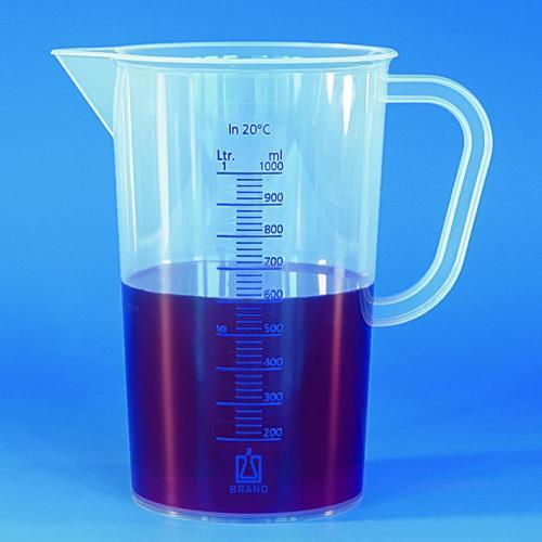 Maatkan 2000:50 ml, PP,  blauw gegradueerd (33640812)