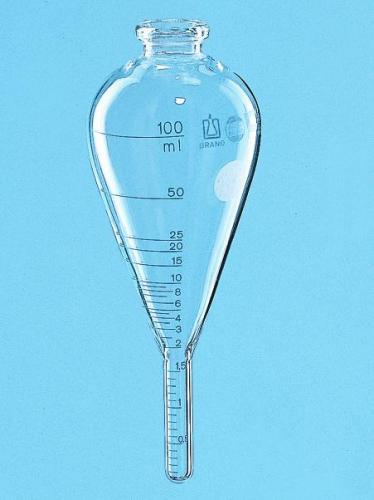 Centrifugebuis ASTM D96, peerv gegrad. 0-100 ml, l=max 160 mm (31216200)