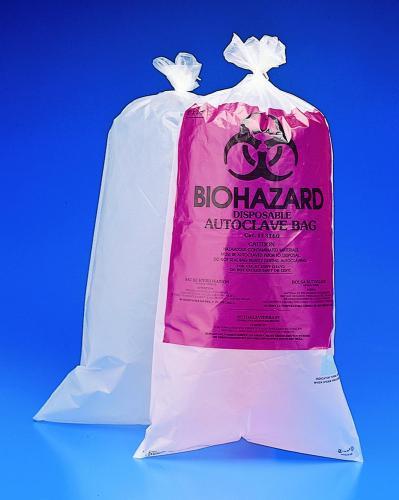 Afvalzakken Biohazard 610 mm