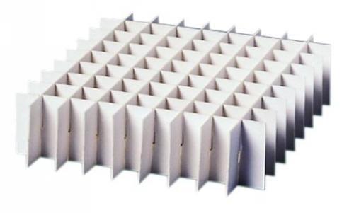 Inlegrooster diepvriesdoos 133x133x30 mm, 81 vakken (LLG6081879)