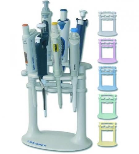 Pipetstandaard in-line Roze Universal 337, voor 7 pipetten (LLG9411504)