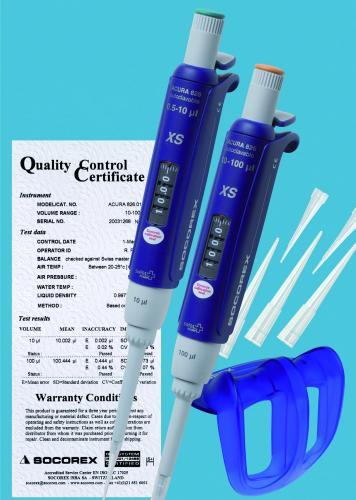 Microliterpipetten TwiXS Pack Acura<SUP>®</SUP> manual XS 826 Pakket Q