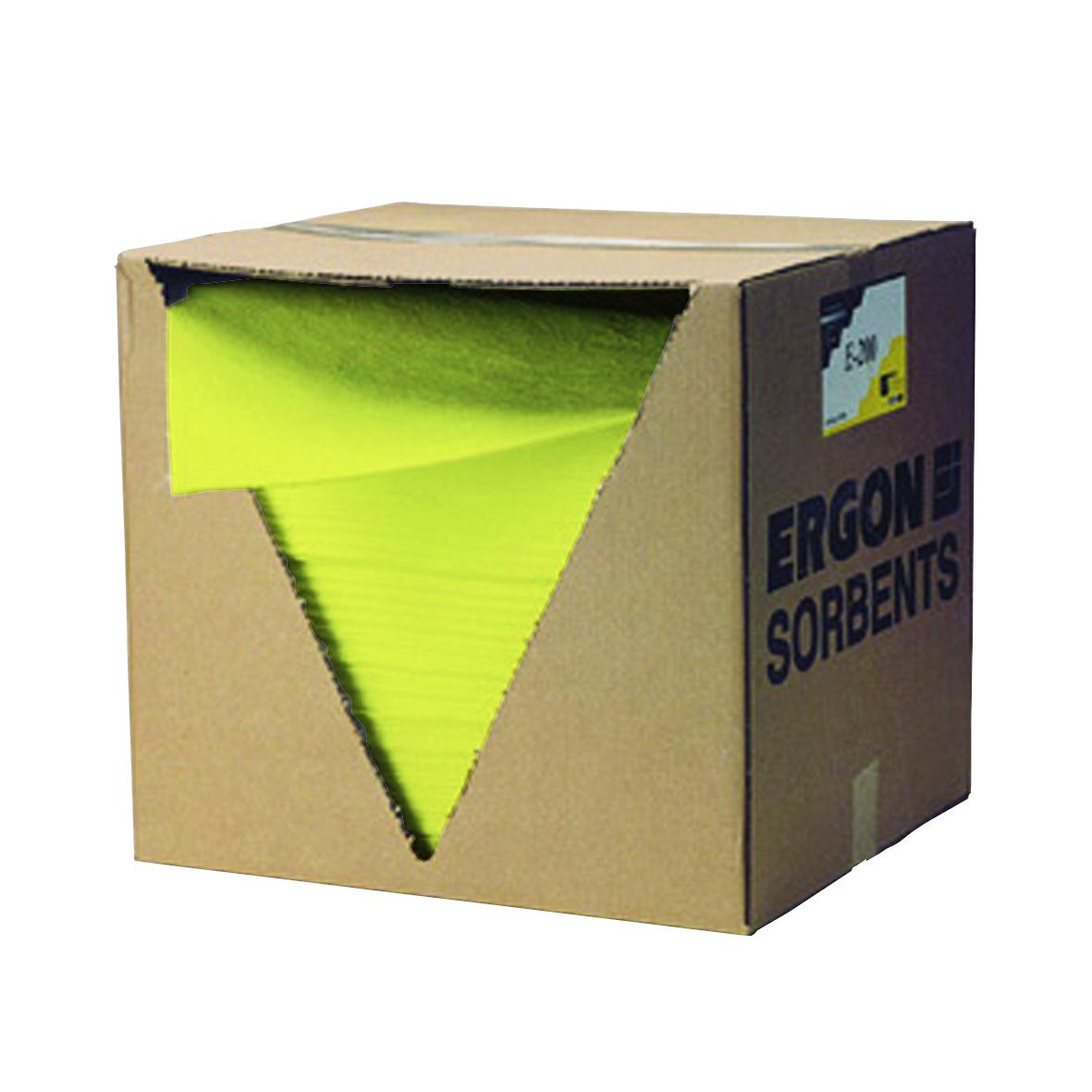 Absorptiedoeken 40 x 50 cm, capaciteit 90 l, geel, EU 200 (94495052)