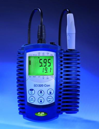Ultrapuurwaterelektrode, tot100 mS/cm voor Geleidbaarheidsmeters SD320CON