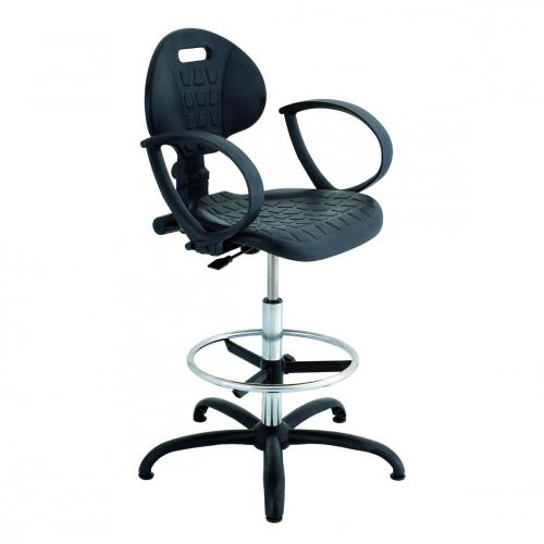 Laboratoriumstoel verstelbaar 525-770 mm, PUR standard II (41732200)