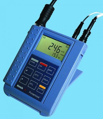 Portamess® 913 Cond voor Geleidbaarheidsmeter op batterijen Portamess <SUP>®</SUP> 910 Cond