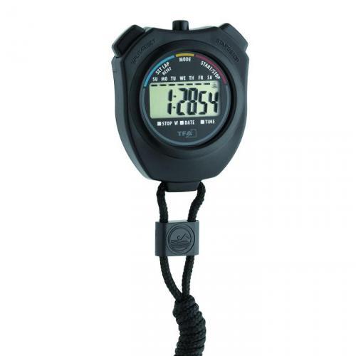 Stopwatch digitaal zwart,  23 uur, 59min, 59 sec. (LLG9851018)