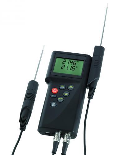 P795 2-kanaals, Pt 100 voor testmiddelcontrole voor Precisiehandmeters P700