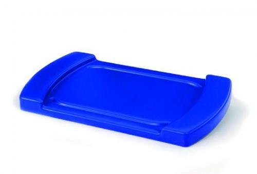 Deksel plastic, voor P30H blauw (1003281)