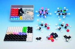Molecuulbouwdoos, organische set groot, 111 atomen, 140 ver (LLG9883103)
