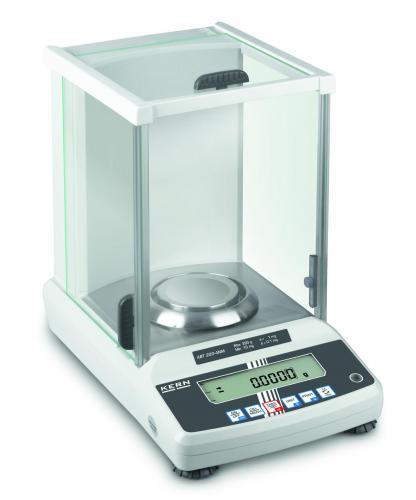Analytische balans ABT 220-4M 220 g: 0,1 mg, incl. windkap (04103003)
