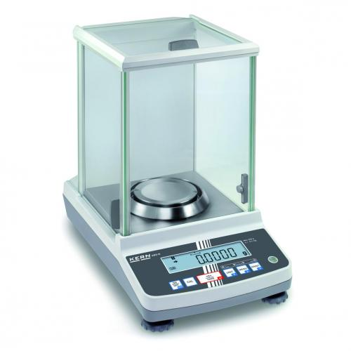 Analytische balans ABJ 120-4NM 120 g:0,1 mg, Ø 91 mm (04101006)