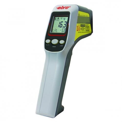 Infraroodthermometer TFI 260 -60-+500°C, digi, met cal cert (01807049)