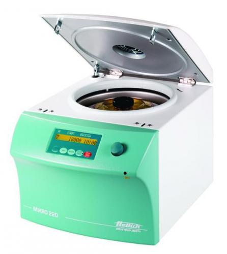 2219-A hoekrotor voor 20 x 1,8 ml cryobuisjes met deksel voor Microlitercentrifuges Mikro 220 / 220 R