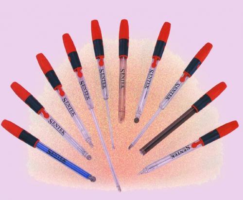 Gecombineerde elektroden pH 0-14 0-80 max. °C