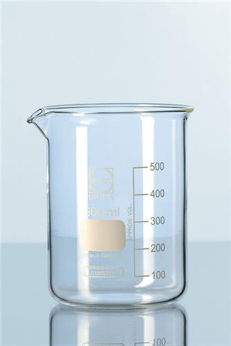 Bekerglas 1000 ml laag model Ø 105 mm, h=145 mm (21106540)