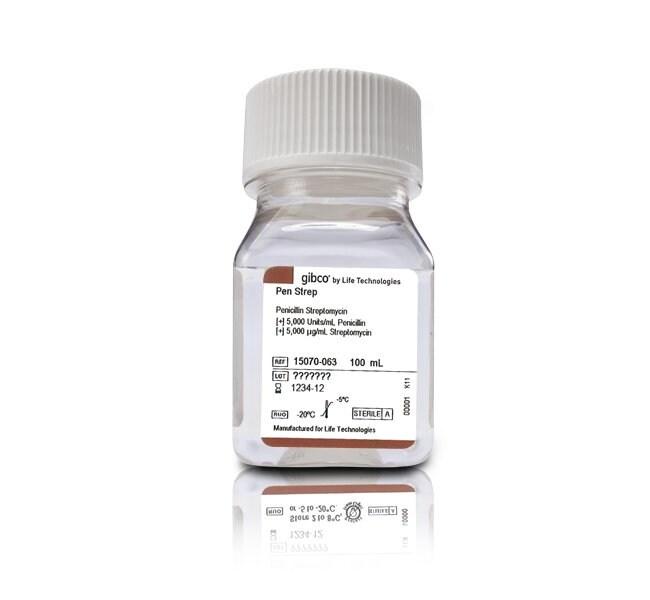 Penicilline-Streptomycine 5000 I.U./ml (F11528876)