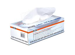 Tissues 210x220 mm tweelaags wit, LLG Labware (41413220)