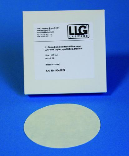 LLG rondfilters, kwalitatief Ø 185 mm, traag (41242671)