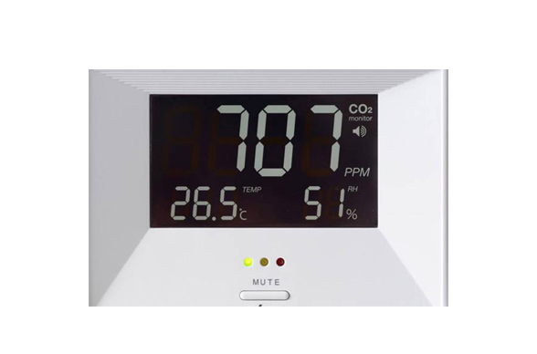 Klimaatmonitor RM100, meet CO2 temperatuur, luchtvochtigheid (LLG6288263)