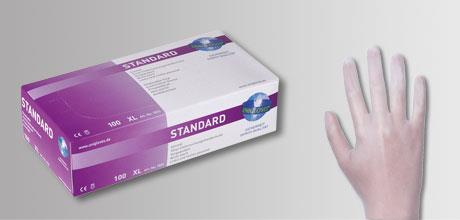 Onderzoekshandschoenen Stan- daard, vinyl maat XL (9 - 10)  (LLG9405153)