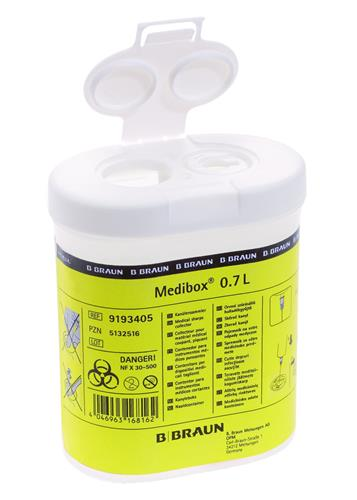 Naaldencontainer 0,7 l Medibox (38420100)