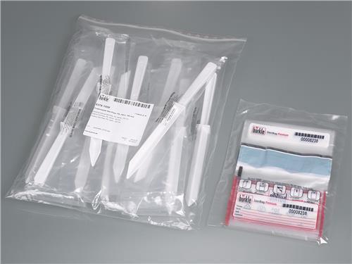 Monsternameset SteriPlast 10 spatels en zakken, wit (33212222)