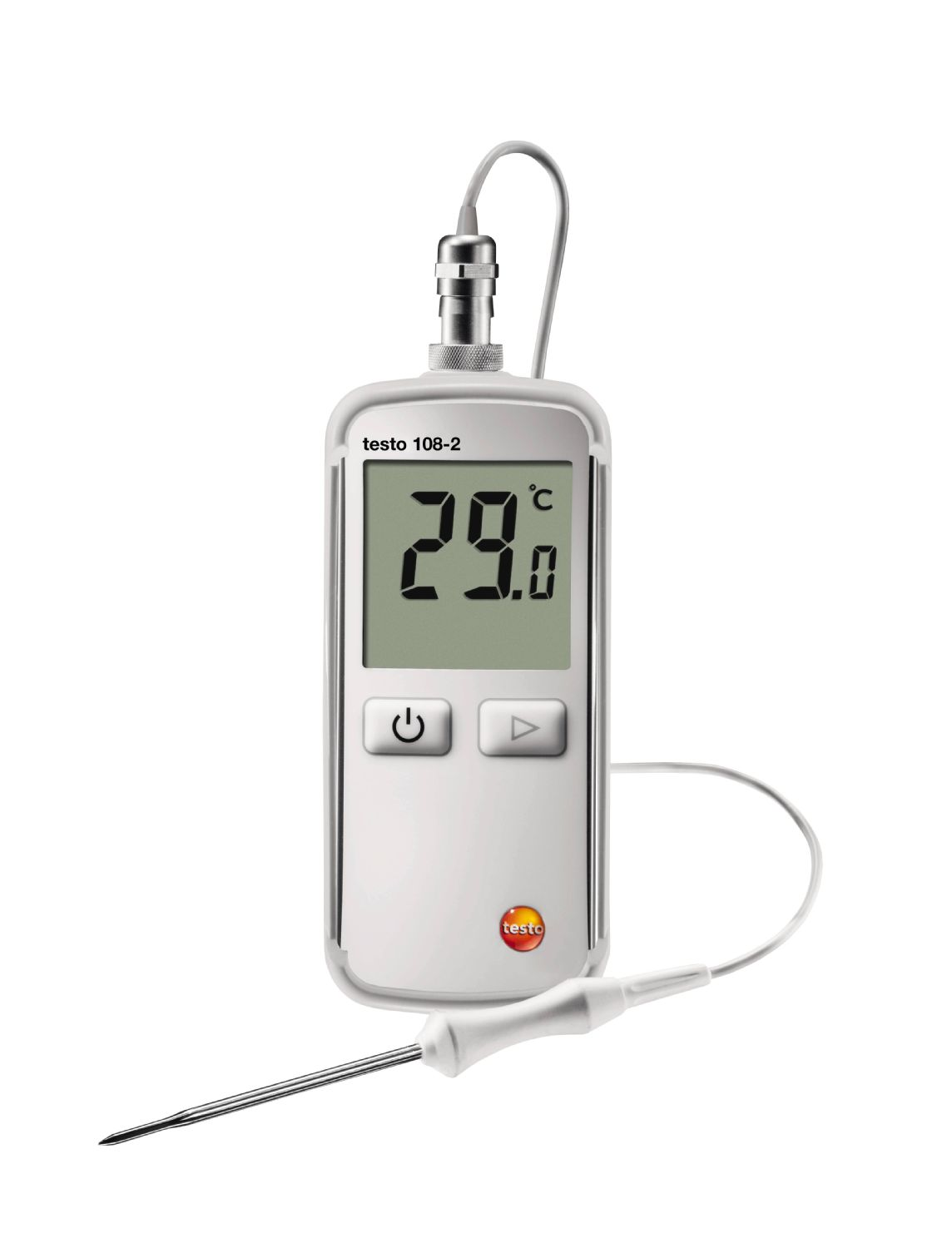 Thermometer Testo 108-2, -50 - +300°C, waterproof (01709082)