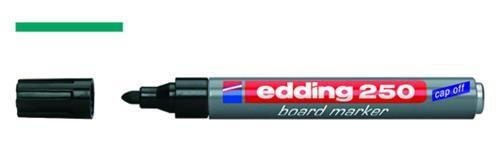 Whiteboard marker 250 groen, met ronde punt 1,5-3 mm (LLG9050709)