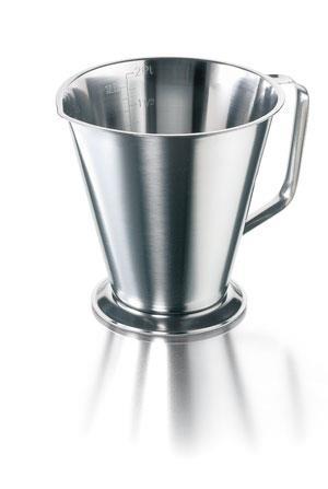 Maatbeker 1000 ml RVS   (LLG9275861)