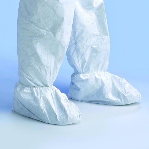 Overtrekken,Tyvec,wit,antislip voor schoenmaat 42-46 (LLG9390021)