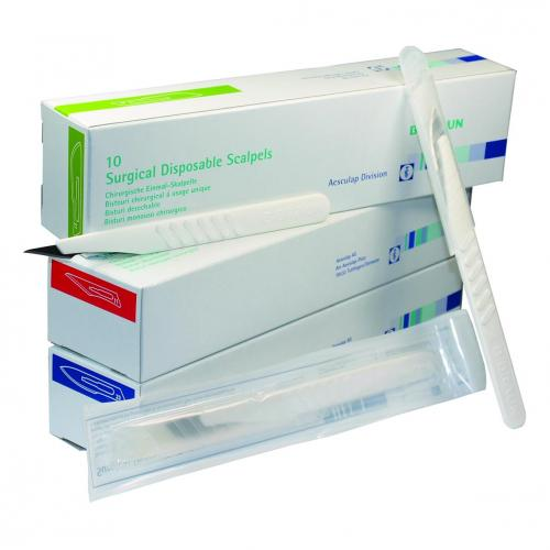 Scalpelmesjes disposable Cutfix® 11, steriel (VE=10 st) (LLG9409805)