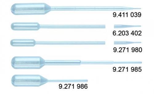 Pasteurpipetten 1 ml, 150 mm per stuk steriel verpakt (LLG9411038)
