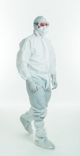 Met kraag Maat XL voor Beschermpak Kimtech Pure