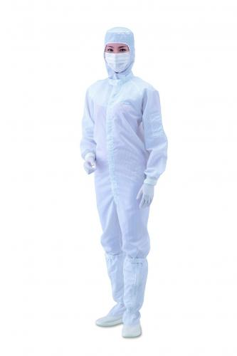 Cleanroomoverall, polyester, blauw, maat XL (LLG4659049)