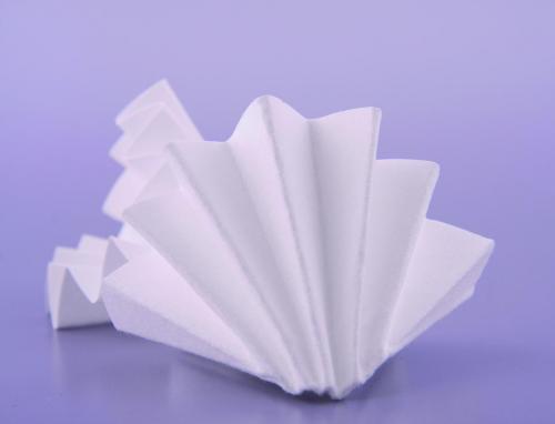 Vouwfilters Ø 185 mm, 595 68 g/m2, 4–7 µm, 0,15 mm dik (20119618)