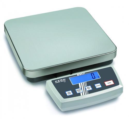 Plateauweegschaal DE 6K1D 3/6 kg:1/2 g, 308x318 mm plaat (04124028)